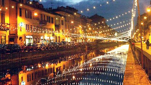 I navigli a Milano