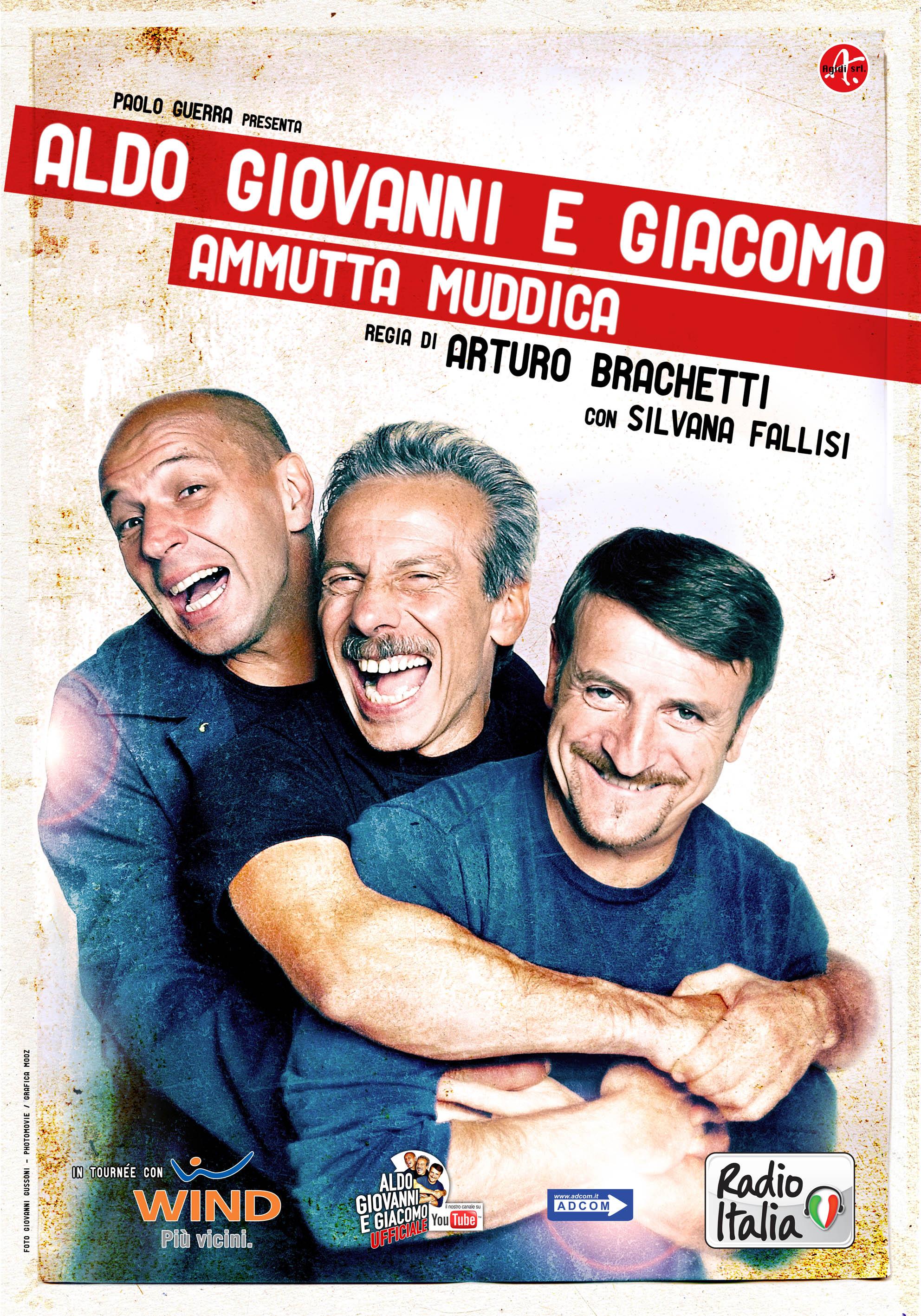 """""""Ammutta muddica"""": Aldo, Giovanni e Giacomo a teatro"""