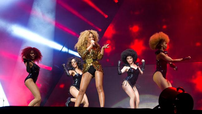 Beyoncé in concerto il 18 maggio 2013 a Milano