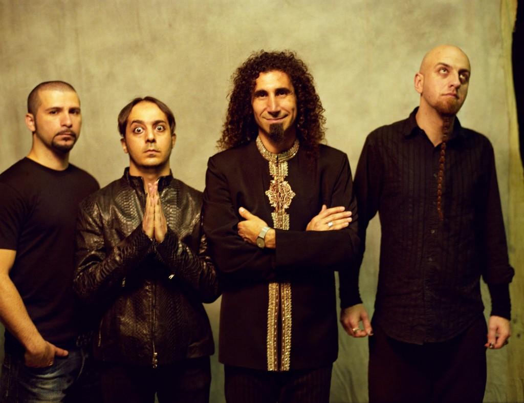System Of A Down in concerto il 27 agosto 2013 a Milano. Unica data italiana del loro tour mondiale