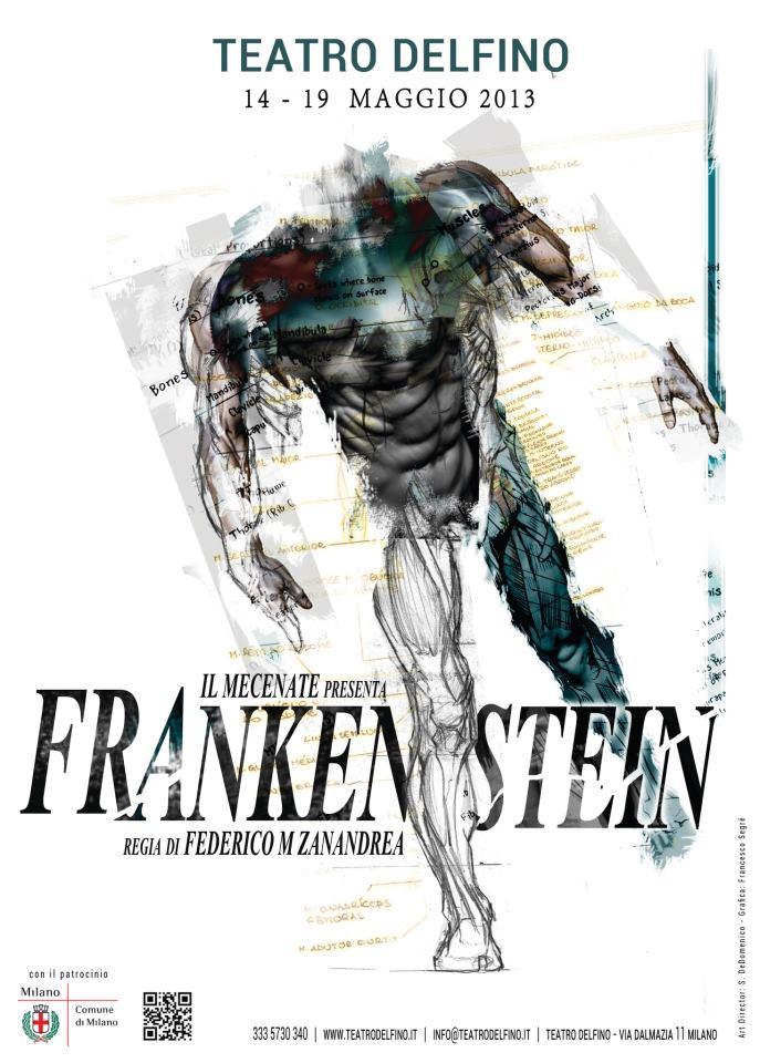 Frankenstein al teatro Delfino di Milano dal 14 al 19 maggio 2013