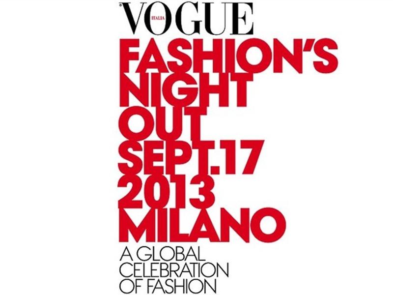 Vogue Fashion's Night Out 2013 Milano