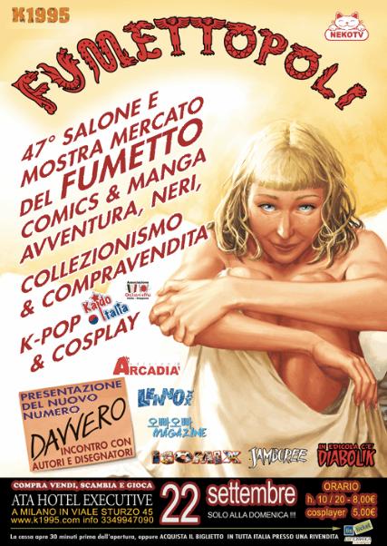 Fumettopoli 2013 il 22 settembre 2013 il salone del Fumetto a Milano