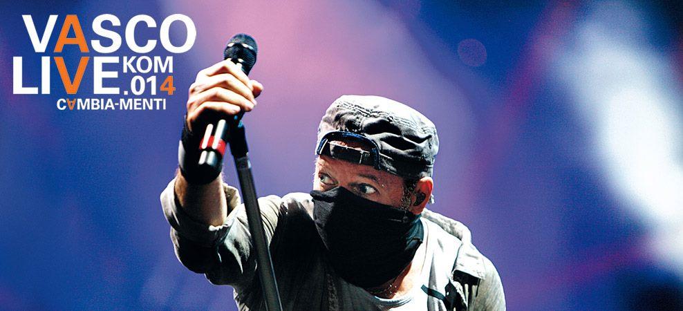 Vasco Rossi in concerto a San Siro il 4 e 5 luglio 2014