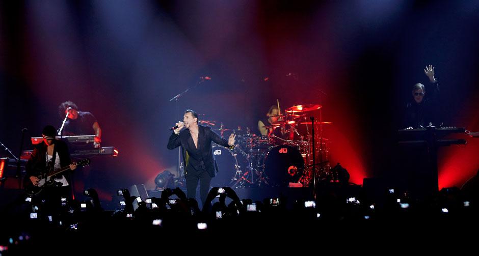 Depeche Mode in concerto a Milano il 20 febbraio 2014