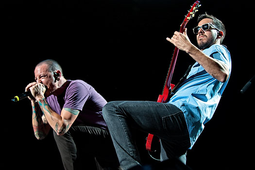 Linkin Park in Concert on the Honda Civic Tour 2012