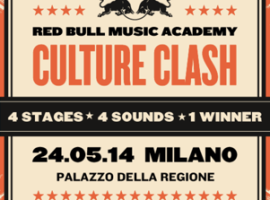 Red Bull Music Academy Culture Clash 2014 a Milano a Maggio