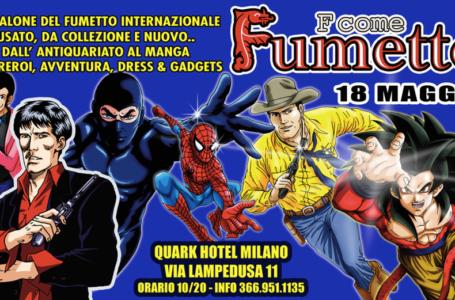 Salone del fumetto a Milano il 18 maggio 2014