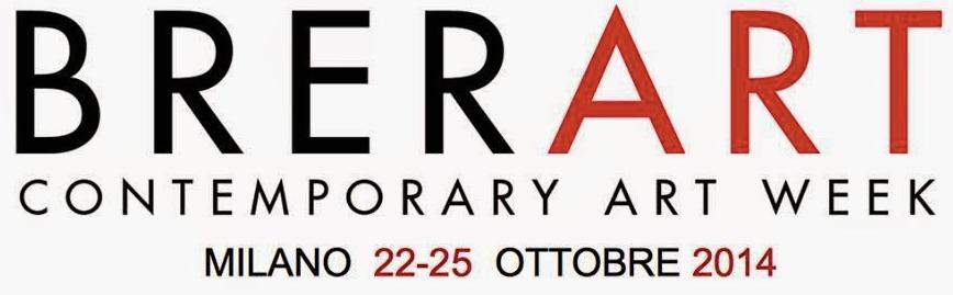"""""""Brerart 2014"""" la settimana dell'arte contemporanea a Milano dal 22 al 25 ottobre 2014"""