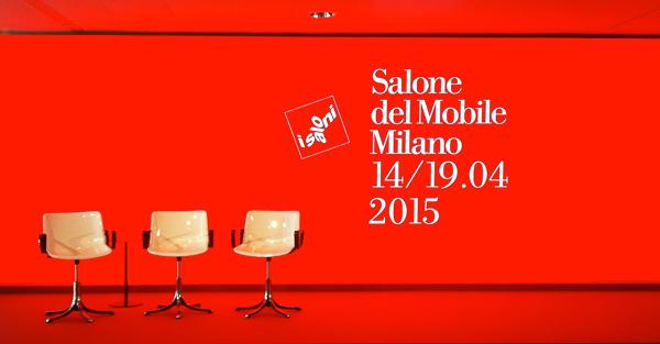 """""""Salone del Mobile 2015"""" a Milano dal 14 al 19 aprile"""