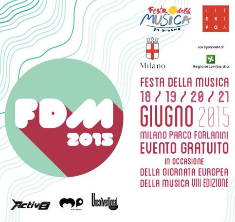 Festa dalle Musica 2015 a Milano